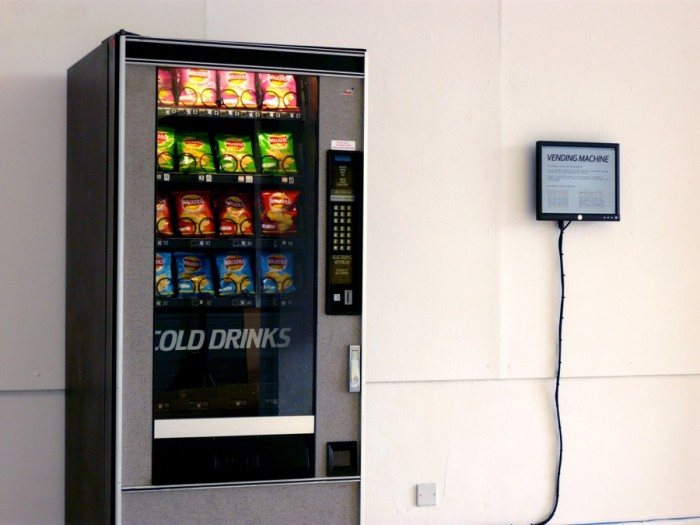 Vending Machine, 2009 © Ellie Harrison