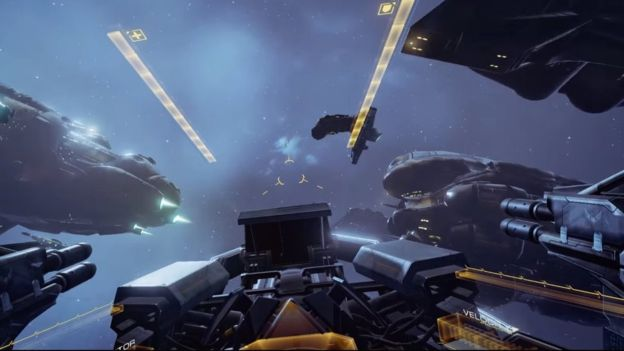 Space war game Eve: Valkyrie will be released on both Oculus and Sony's VR systems via BBC